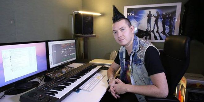Future Music In The Studio With Albin Myers