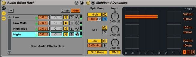 Ableton Mastering Multiband Dynamics