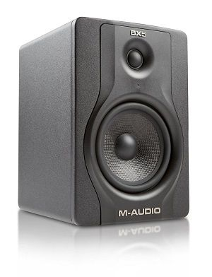 M-Audio BX5 D2 5 inch Active 2-Way Studio Monitor Speakers
