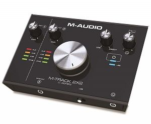M-Audio 2-channel M-Track 2X2