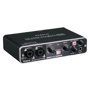 Roland QuadCapture Audio Interface
