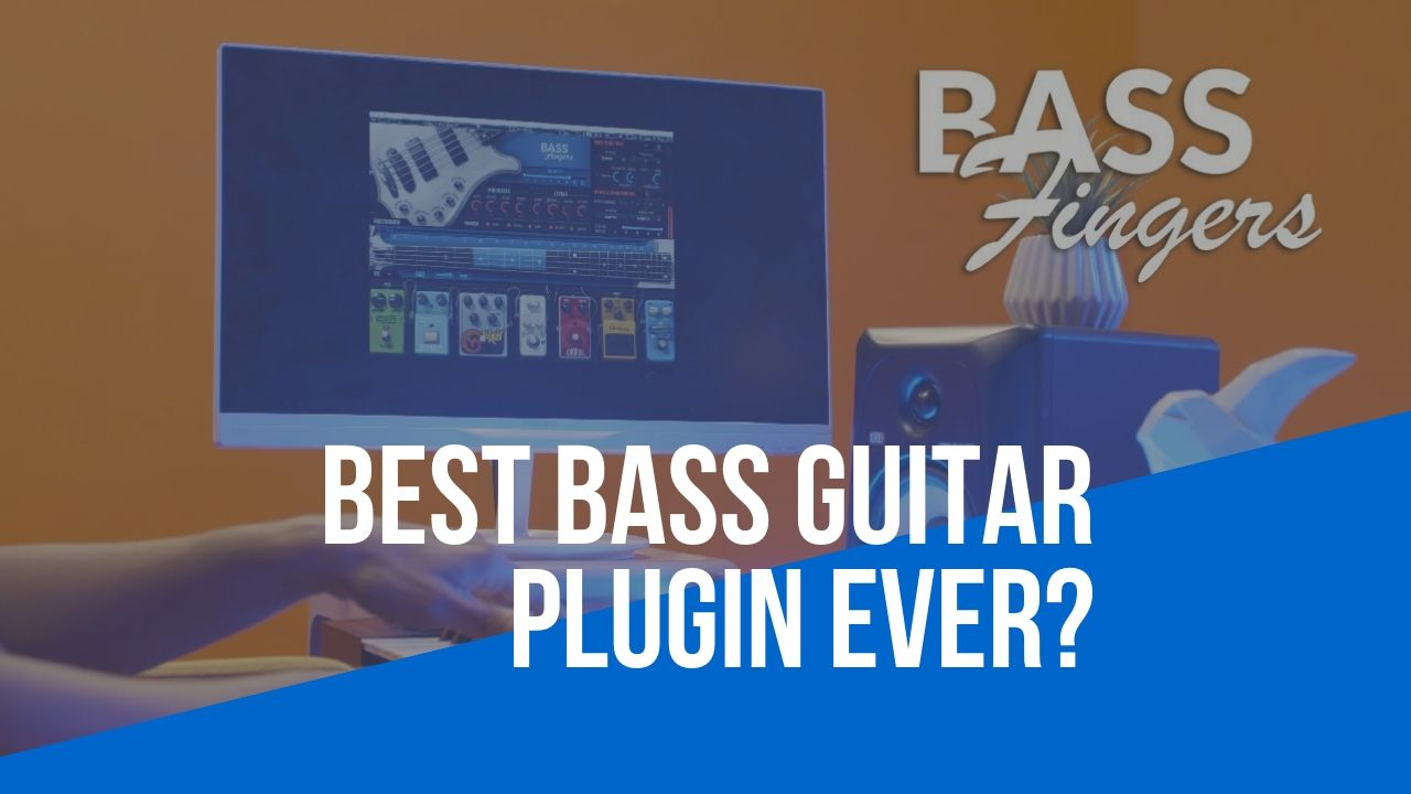 Waves Bass Fingers - Best Bass Guitar Plugin