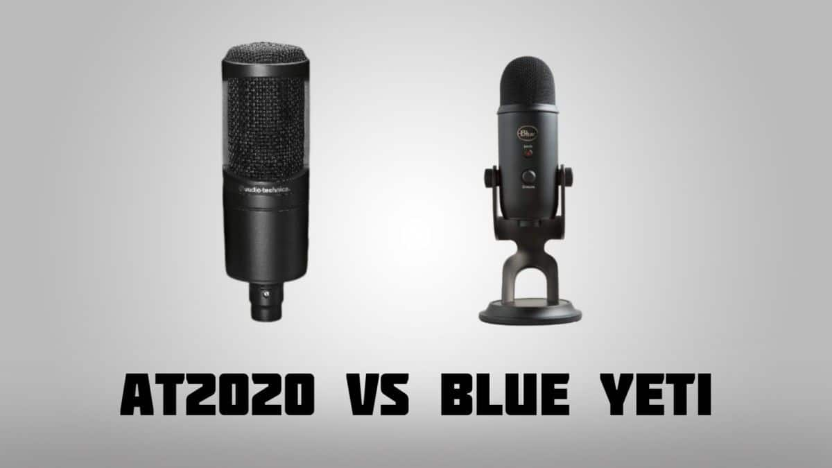 Audio Technica vs blue yeti